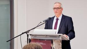 Ernst Gruber, Volksbank-Vorstandssprecher