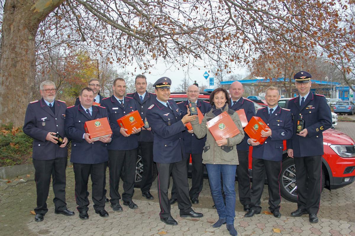 Ehrung aller Kameraden der Feuerwehr Wolfenbüttel