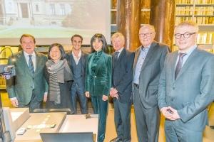 Verleihung des Künstlerbuchpreises in der Herzog August Bibliothek