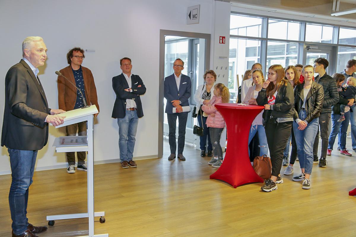 Wilhelm Schmidt empfing die Preisträger