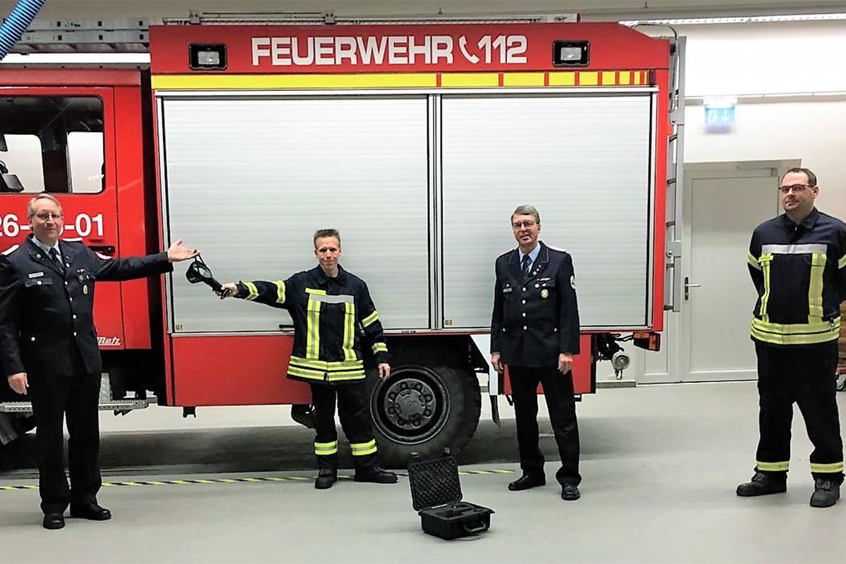 Ortsfeuerwehr Groß Denkte stellt Wärmebildkamera In Dienst